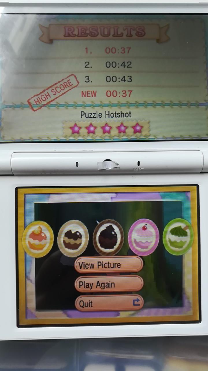 Pokemon X/Y: Pokemon-Amie: Tile Puzzle [Hard] time of 0:00:37