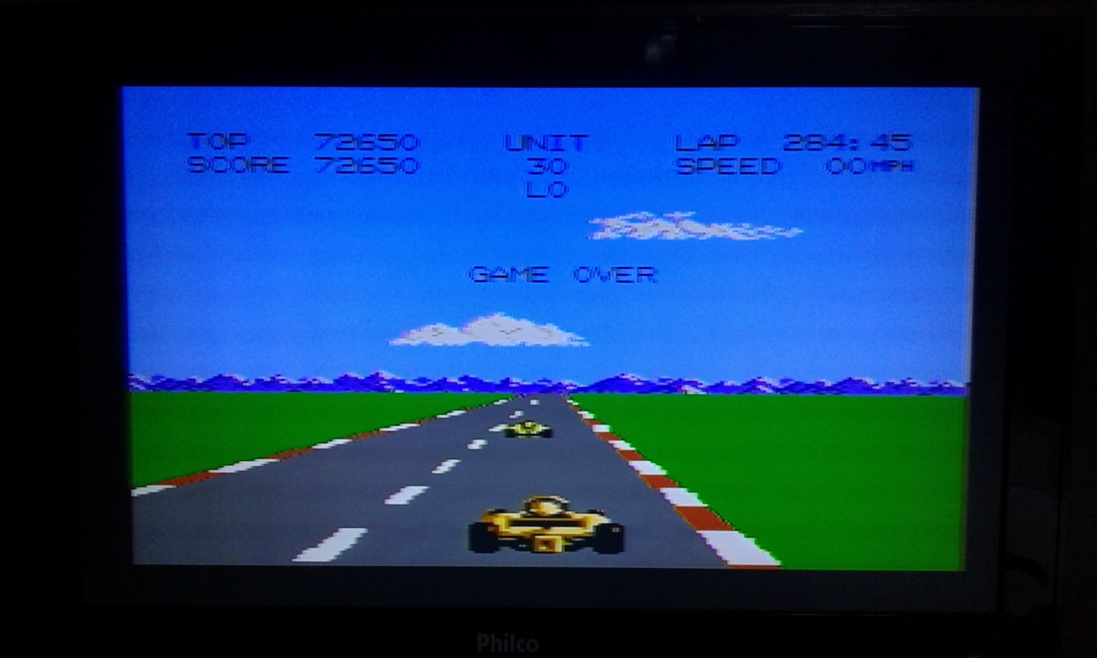 oyamafamily: Pole Position 2: Fuji (Atari 7800) 72,650 points on 2017-04-16 18:25:34