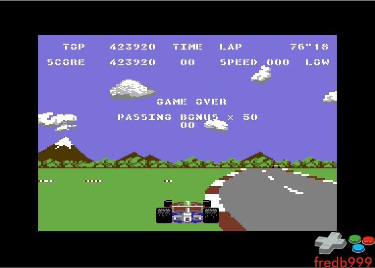 Pole Position 2: Fuji 423,920 points