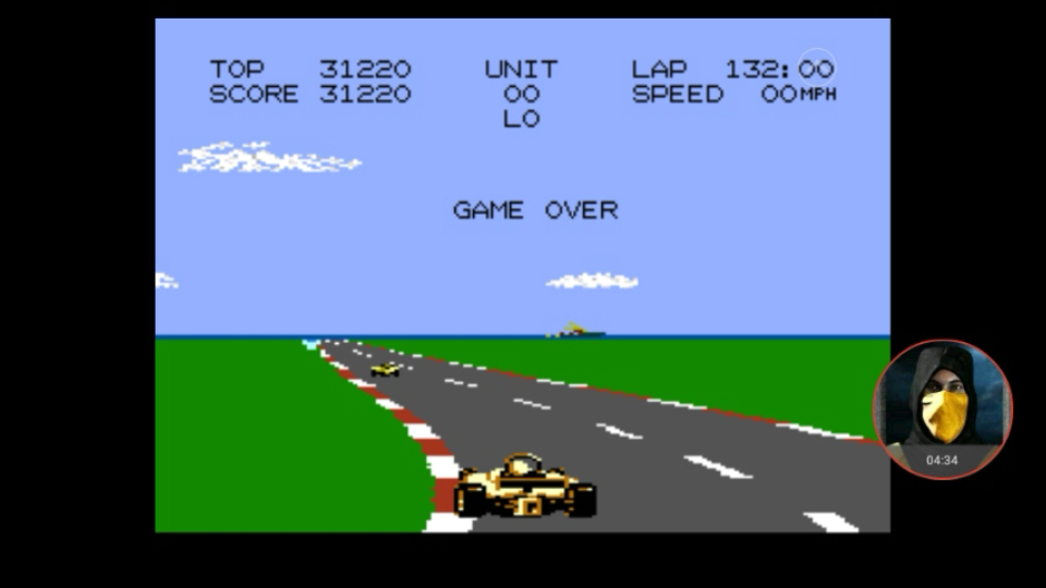 omargeddon: Pole Position 2: Seaside (Atari 7800 Emulated) 31,220 points on 2018-01-13 19:11:57