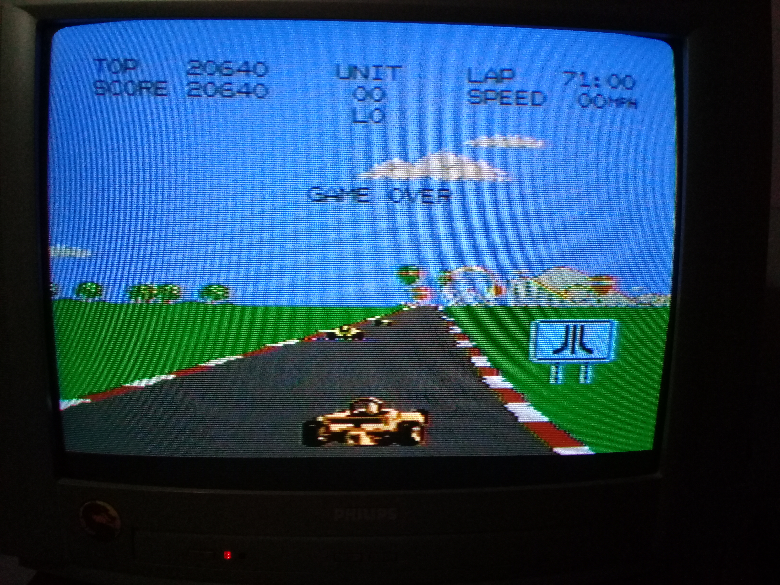 omargeddon: Pole Position 2: Suzuka (Atari 7800) 20,640 points on 2020-09-12 19:44:59