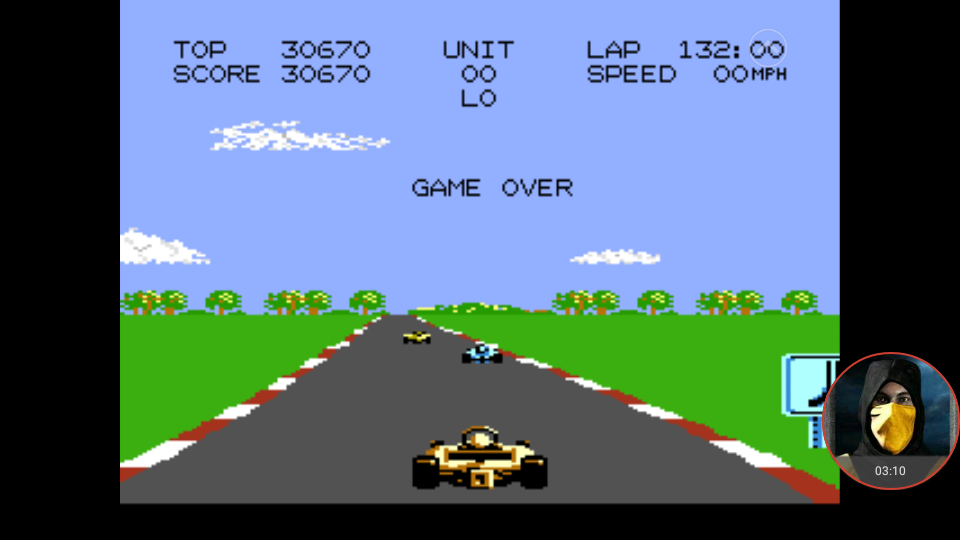 omargeddon: Pole Position 2: Suzuka (Atari 7800 Emulated) 30,670 points on 2018-01-13 21:01:50