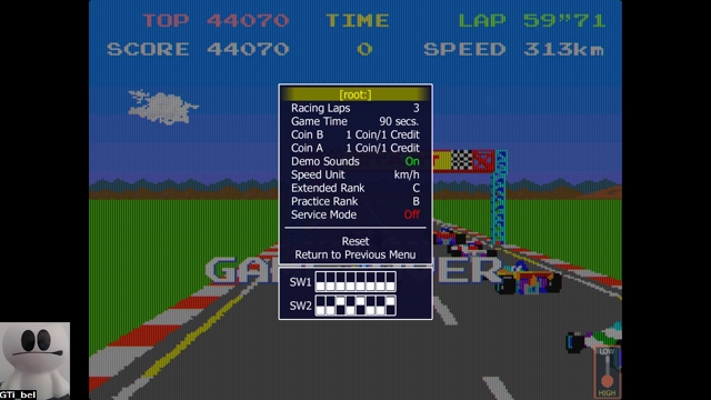 GTibel: Pole Position (Arcade Emulated / M.A.M.E.) 44,070 points on 2018-03-04 08:02:05