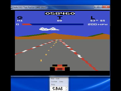S.BAZ: Pole Position (Atari 2600 Emulated) 58,460 points on 2017-07-12 19:14:00