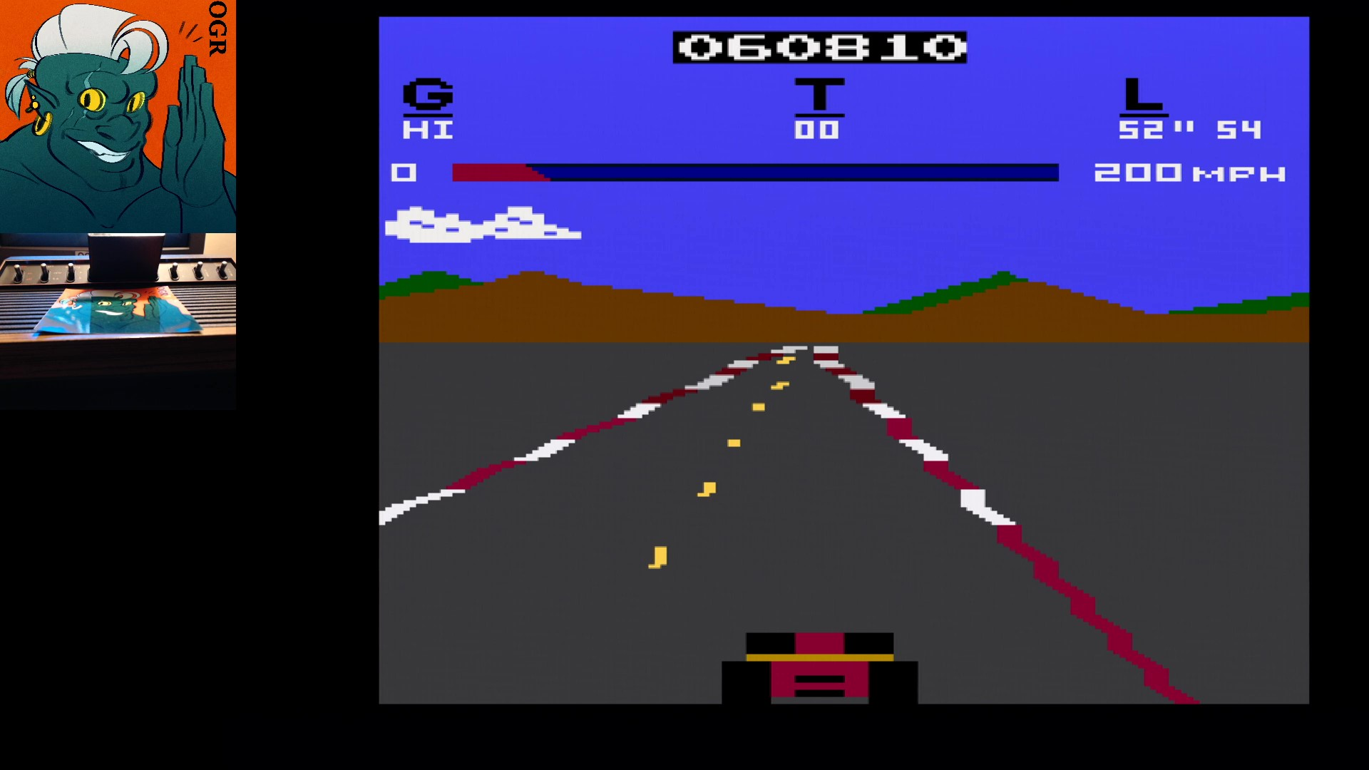 AwesomeOgre: Pole Position (Atari 2600) 60,810 points on 2020-05-02 02:24:21