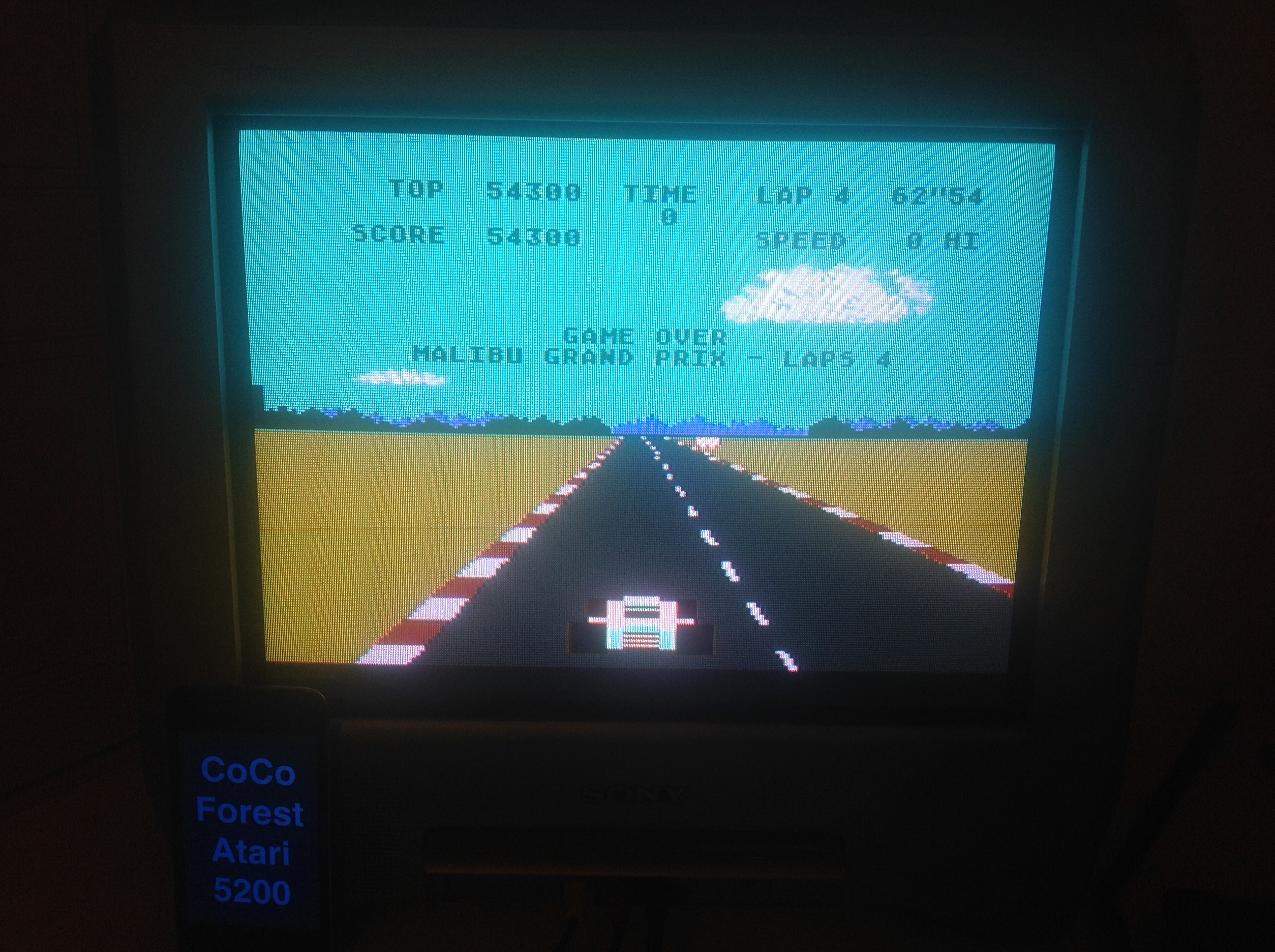 CoCoForest: Pole Position (Atari 5200) 54,300 points on 2015-11-19 15:54:43