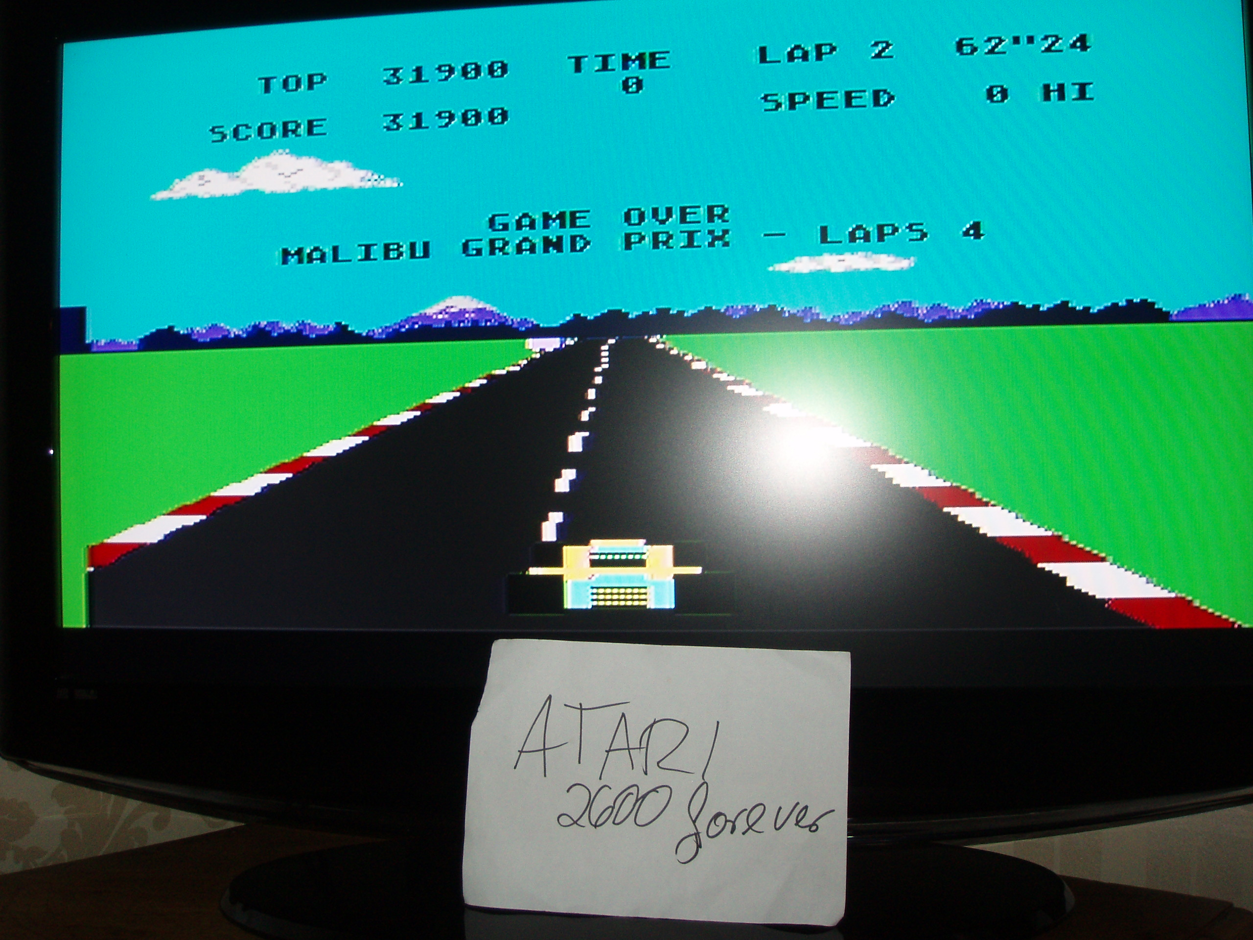 atari2600forever: Pole Position (Atari 5200) 31,900 points on 2017-12-06 03:24:50