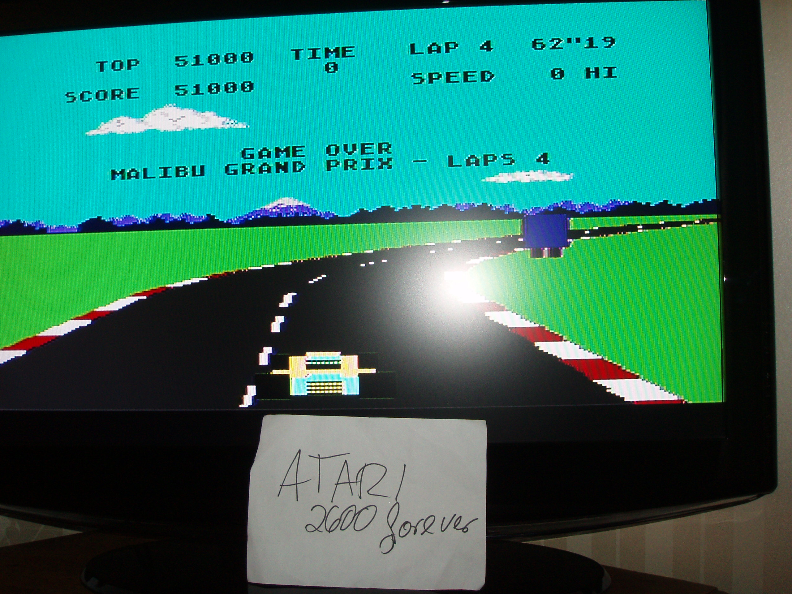 atari2600forever: Pole Position (Atari 5200) 51,000 points on 2018-01-05 03:50:46