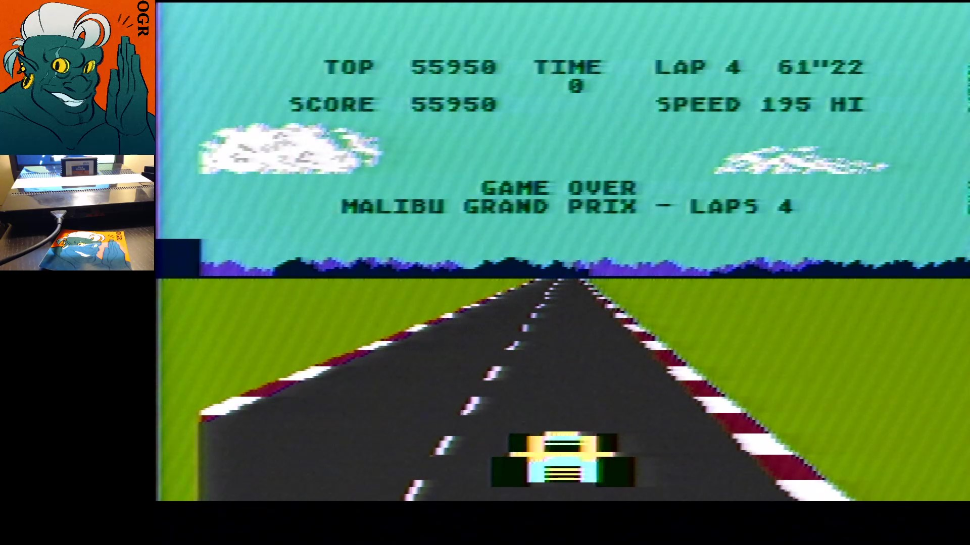 AwesomeOgre: Pole Position (Atari 5200) 55,950 points on 2020-01-10 10:38:28