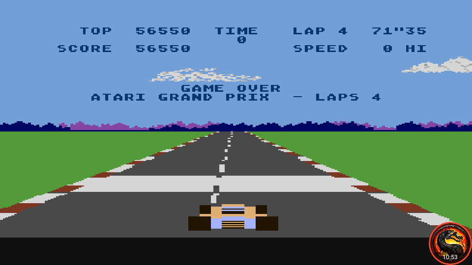omargeddon: Pole Position: Atari Grand Prix [4 Laps] (Atari 400/800/XL/XE Emulated) 56,550 points on 2020-09-29 23:36:12