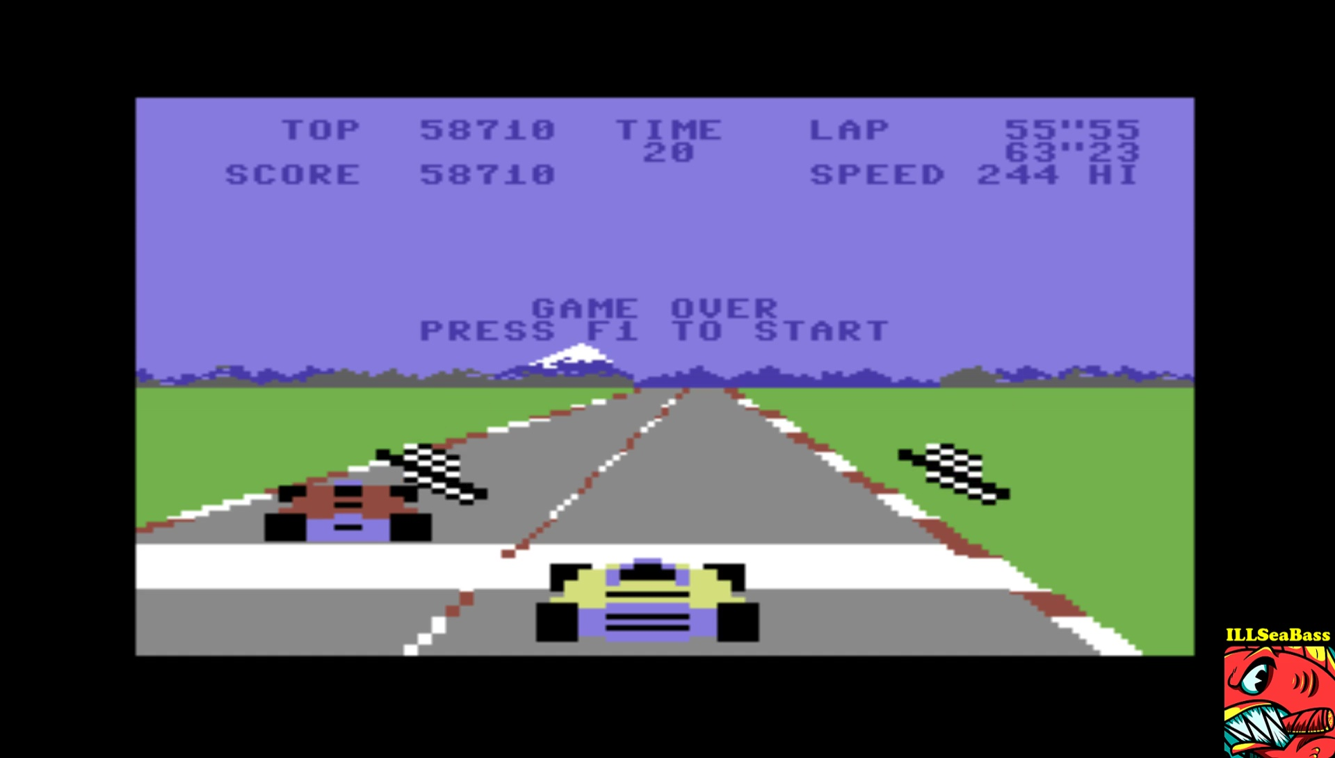 ILLSeaBass: Pole Position (Commodore 64 Emulated) 58,710 points on 2017-03-16 21:23:25