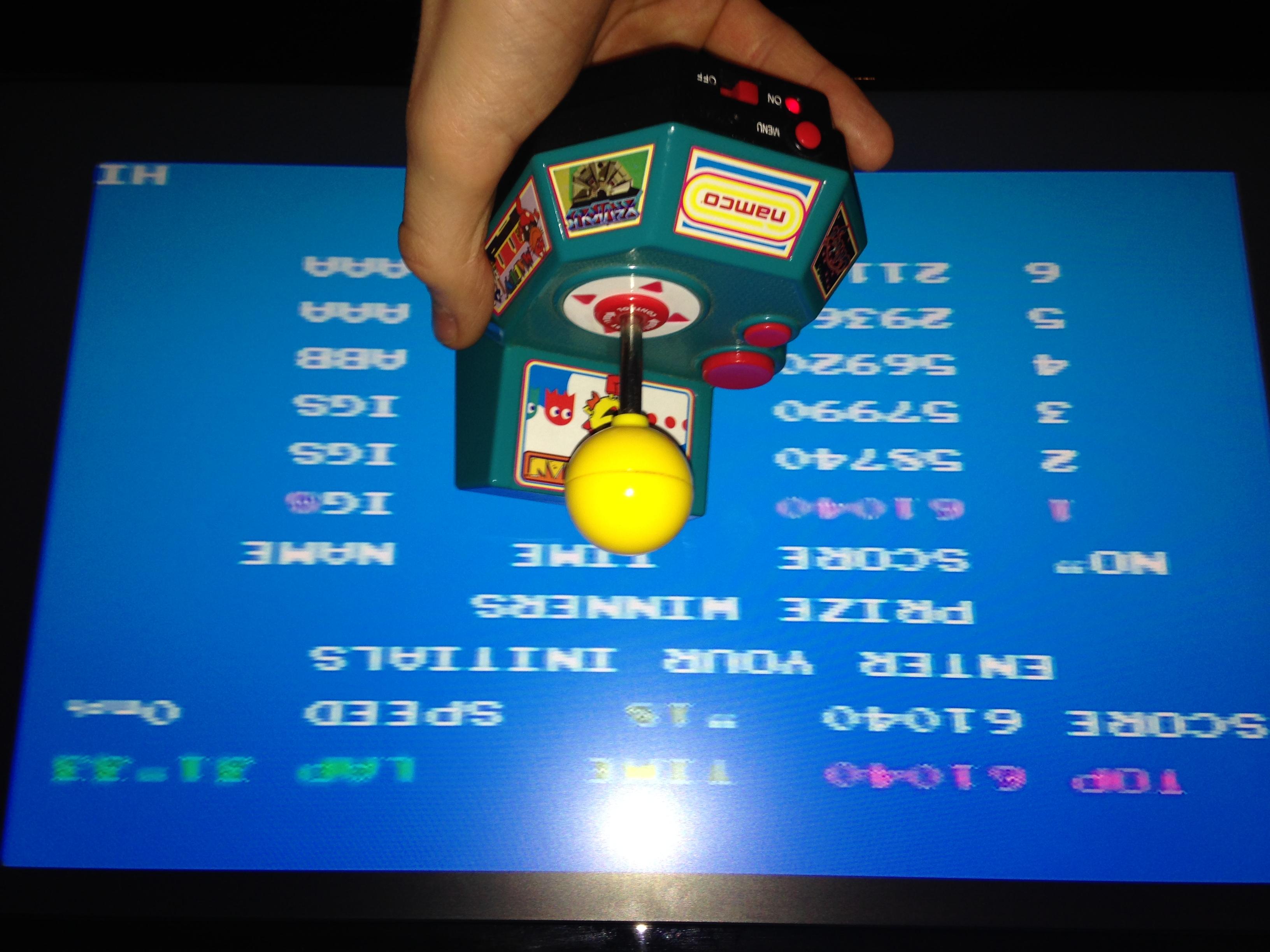 Ianswifty: Pole Position (Jakks Pacific Ms. Pac-Man TV) 61,040 points on 2015-12-16 11:44:18