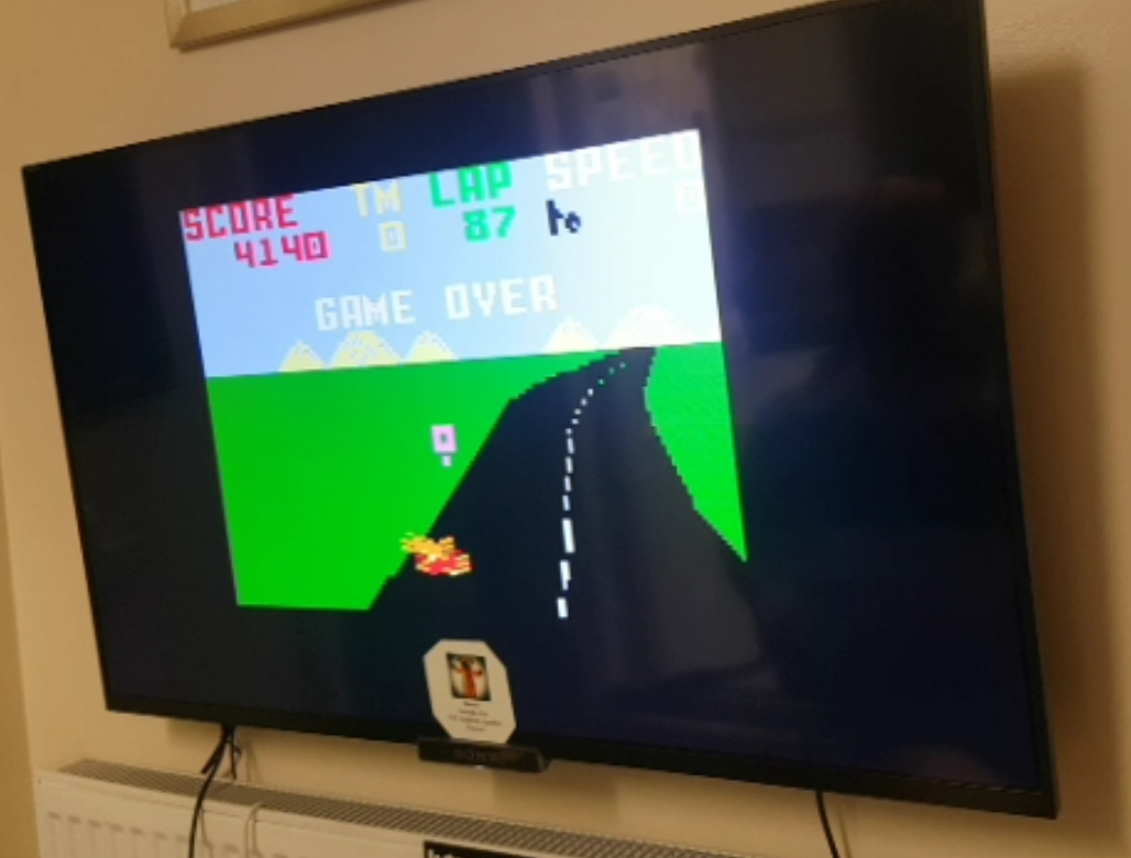 Bamse: Pole Position: Madison 500 Track (Intellivision) 4,140 points on 2019-05-15 15:31:52