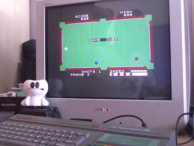 GTibel: Pool [CDS Microsystems] (ZX Spectrum) 990 points on 2017-06-23 15:44:51