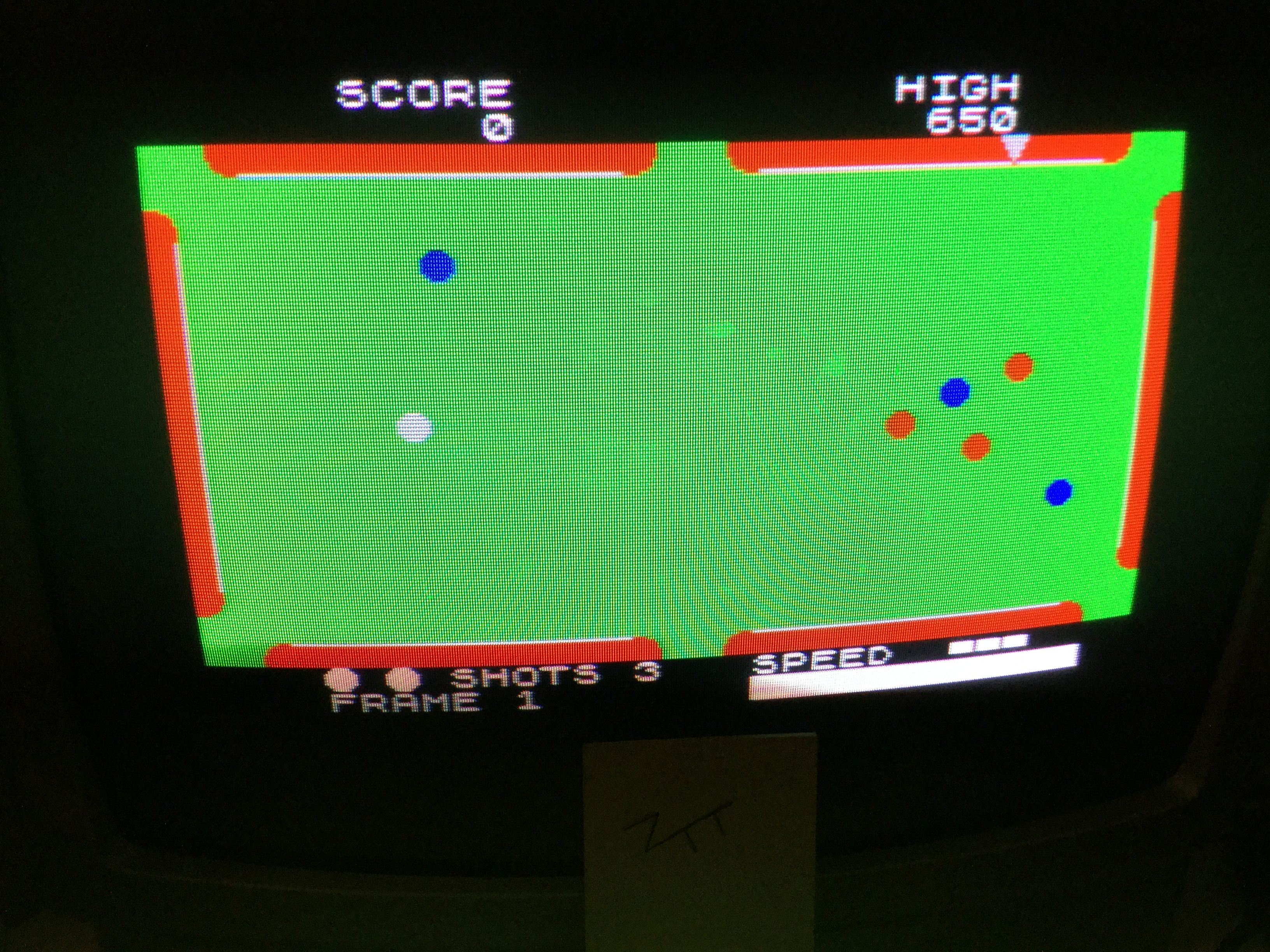 Frankie: Pool [CDS Microsystems] (ZX Spectrum) 650 points on 2019-02-18 13:01:34