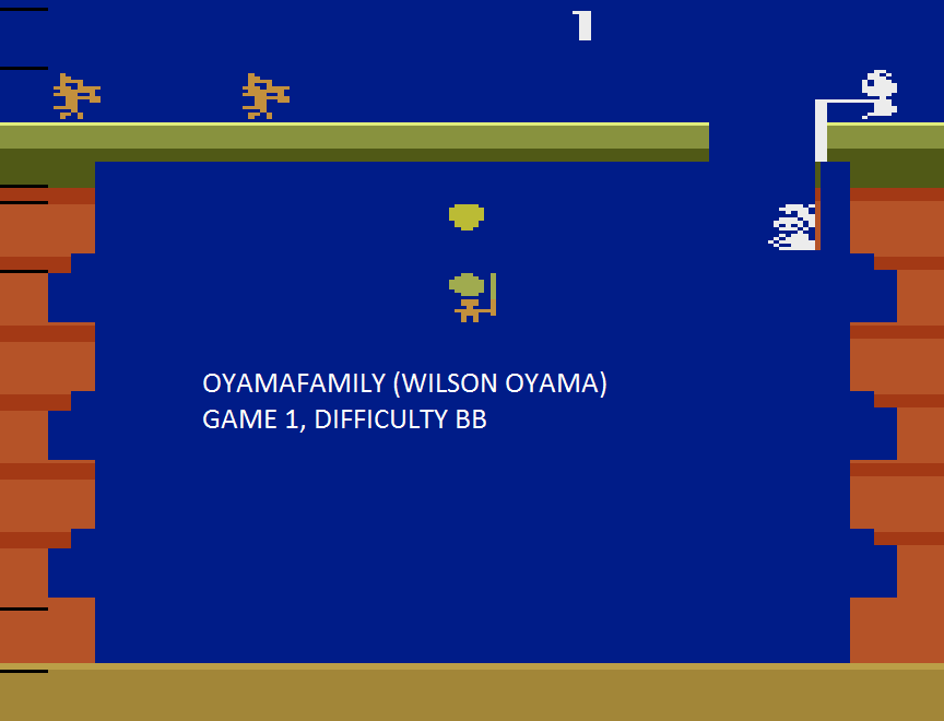 oyamafamily: Pooyan (Atari 2600 Emulated Novice/B Mode) 6,655 points on 2015-08-09 19:19:45