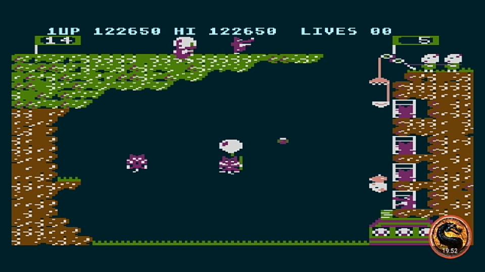 omargeddon: Pooyan (Atari 400/800/XL/XE Emulated) 122,650 points on 2019-04-29 02:53:10