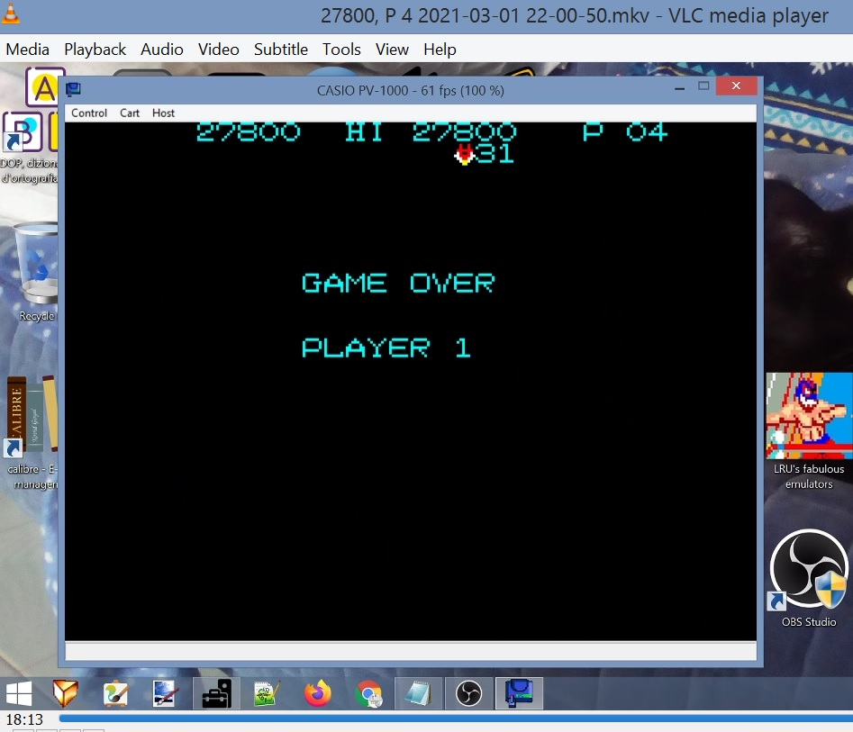 LuigiRuffolo: Pooyan (Casio PV-1000 Emulated) 27,800 points on 2021-03-01 15:40:32
