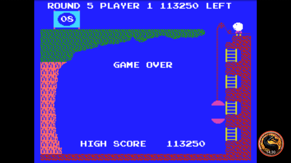 omargeddon: Pooyan (Colecovision Emulated) 113,250 points on 2019-04-29 02:02:54