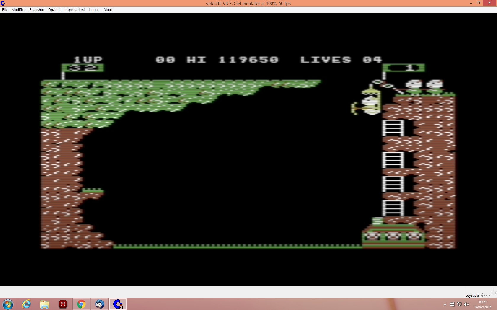 lenny2571: Pooyan (Commodore 64 Emulated) 119,650 points on 2016-02-14 02:52:39