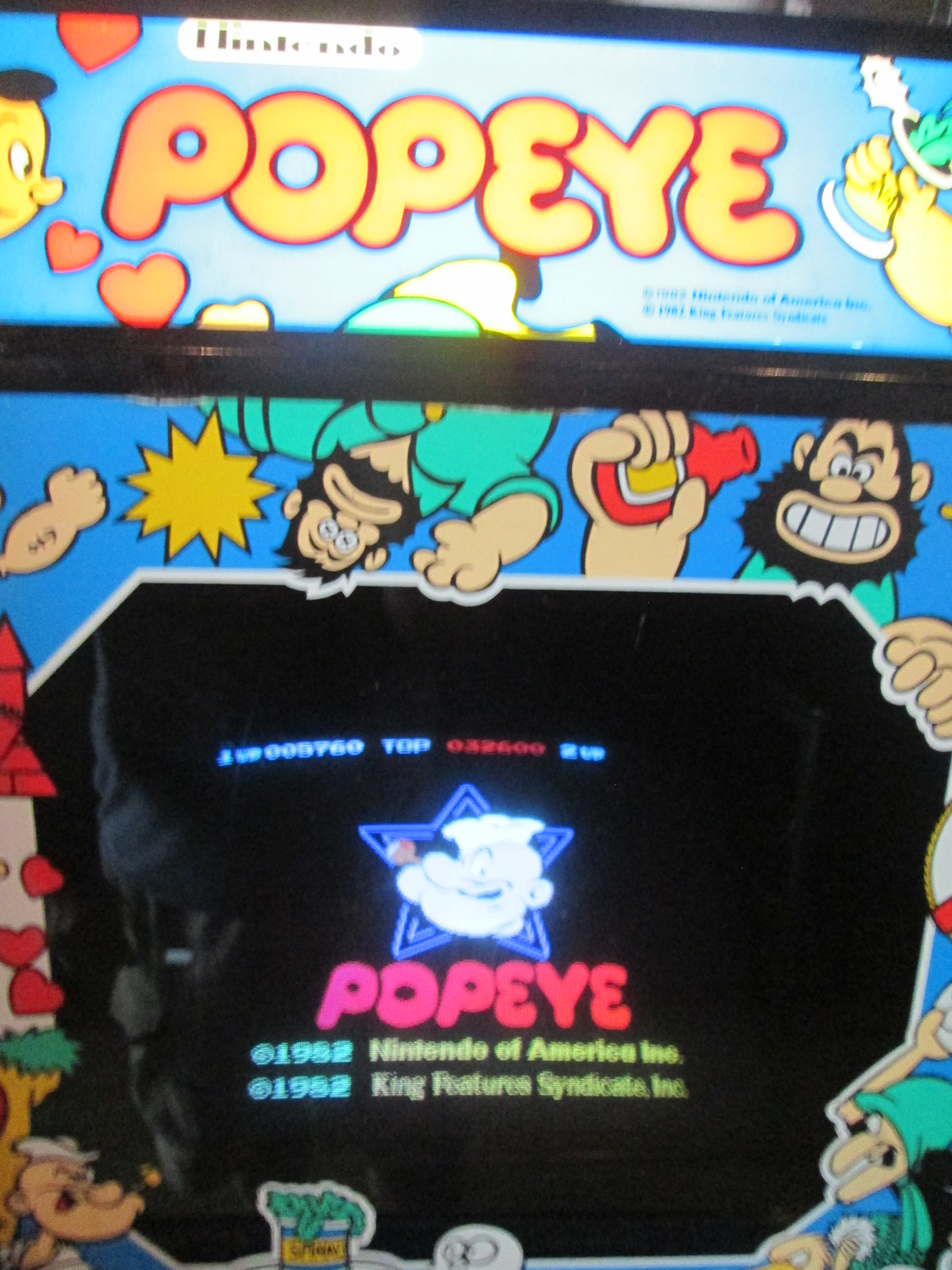 ed1475: Popeye (Arcade) 12,960 points on 2016-08-28 16:33:03