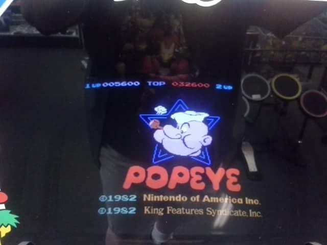 Popeye 5,600 points