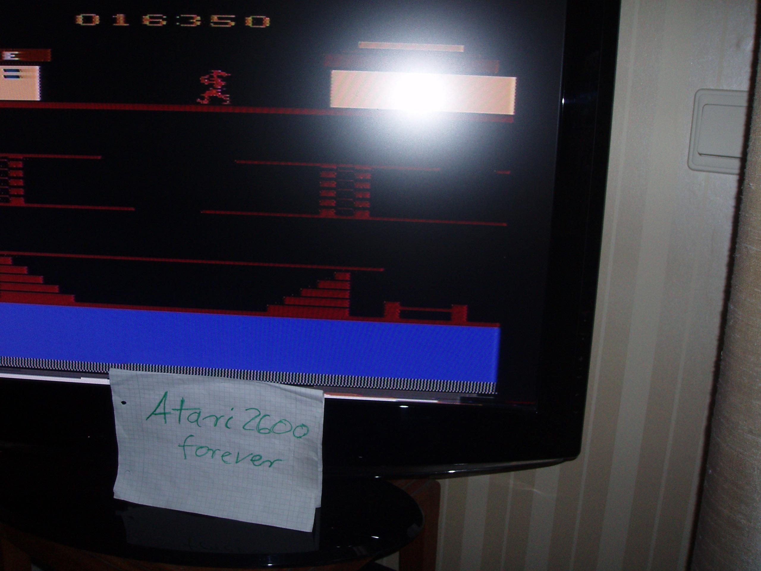 atari2600forever: Popeye (Atari 2600) 16,350 points on 2017-04-18 05:18:27