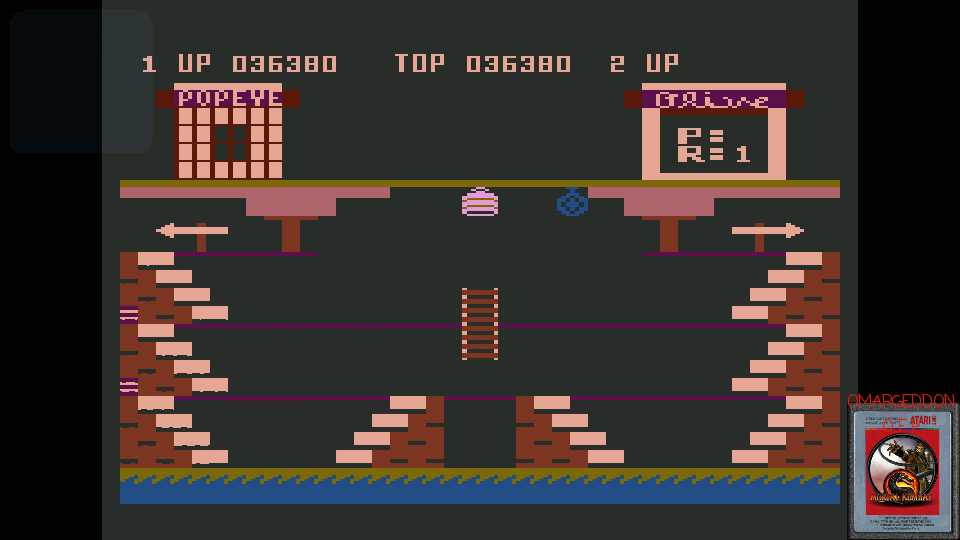 omargeddon: Popeye (Atari 400/800/XL/XE Emulated) 36,380 points on 2017-03-07 23:34:05