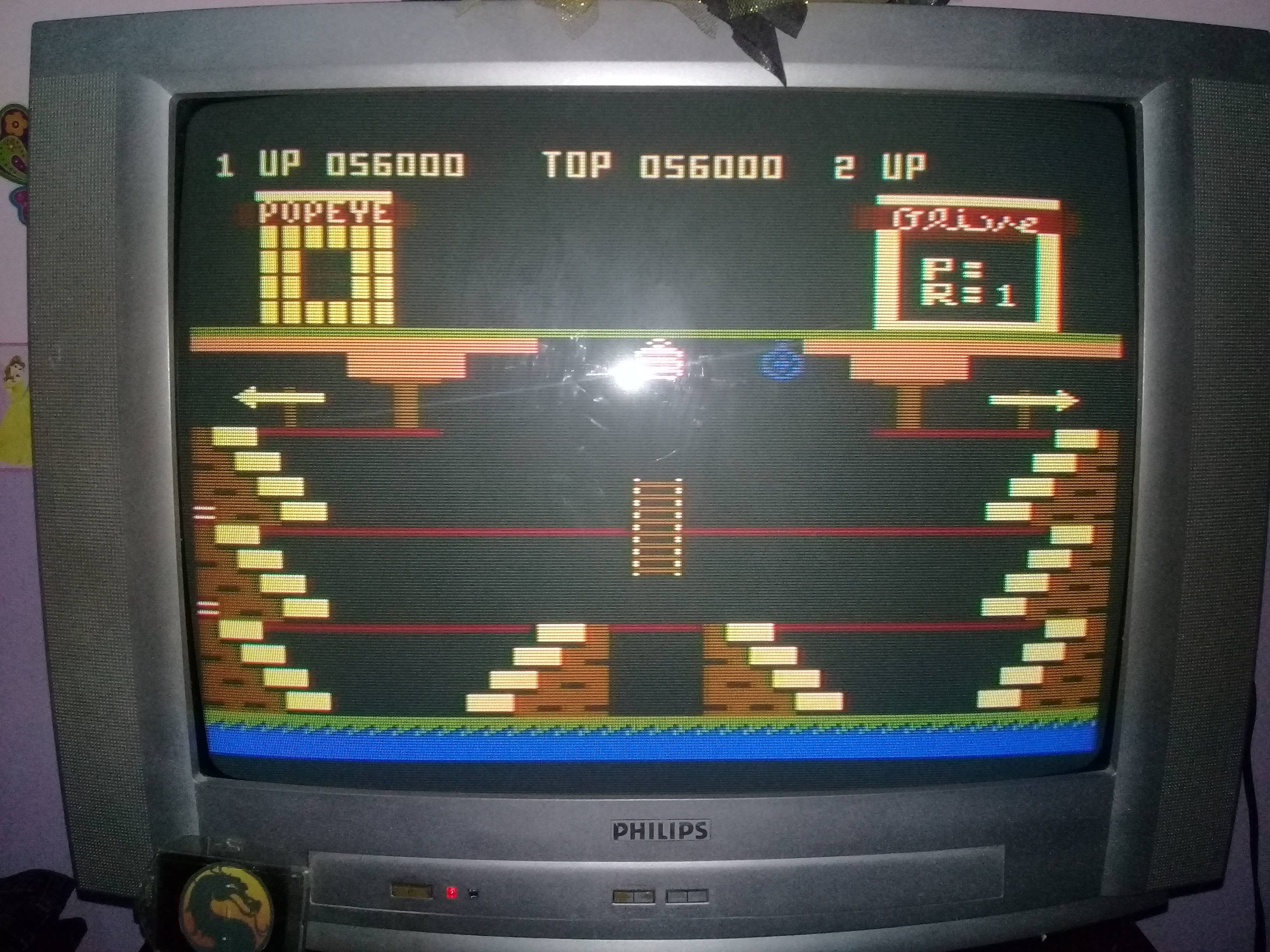 omargeddon: Popeye (Atari 400/800/XL/XE) 56,000 points on 2020-03-10 20:51:43