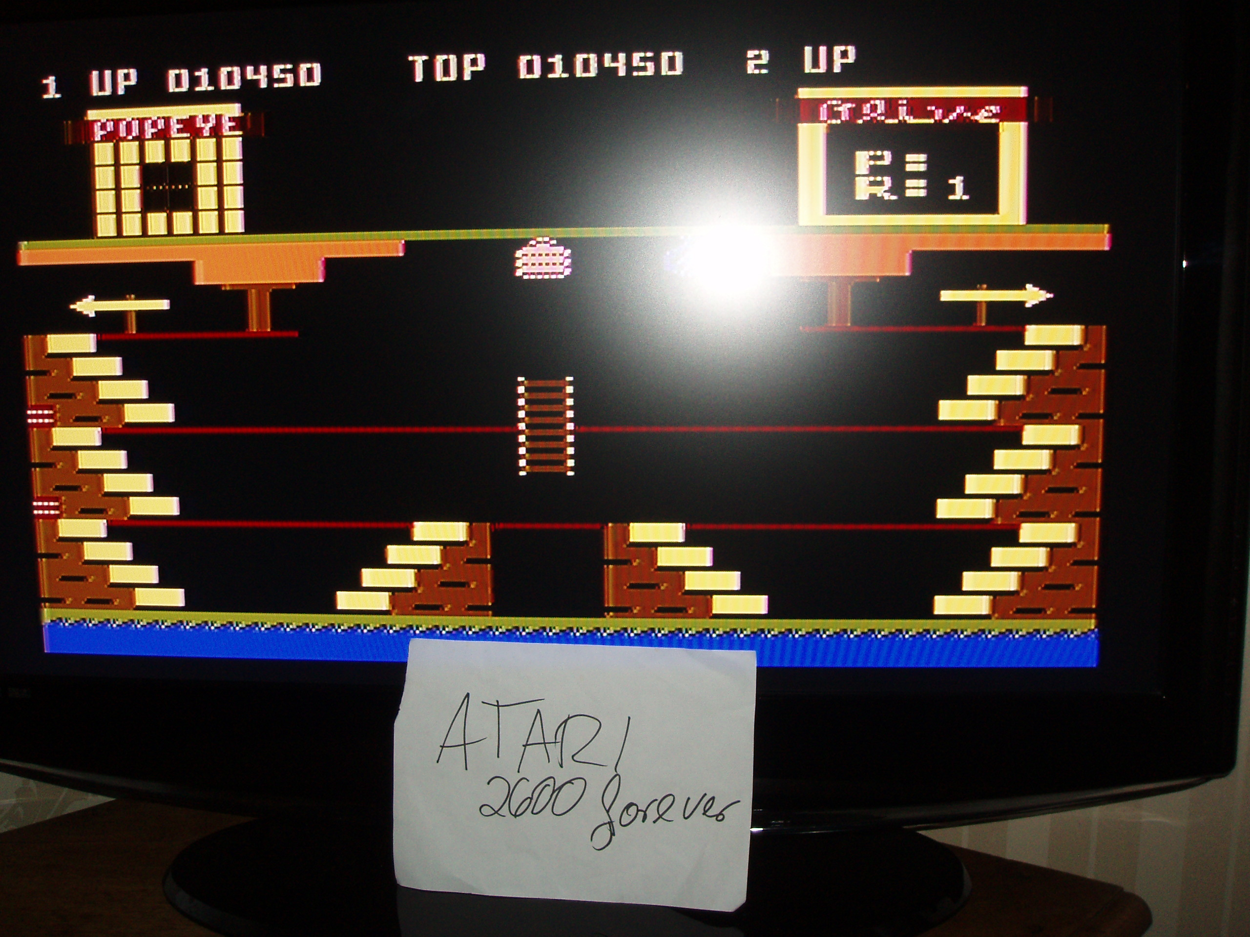 atari2600forever: Popeye (Atari 5200) 10,450 points on 2017-11-23 04:20:08