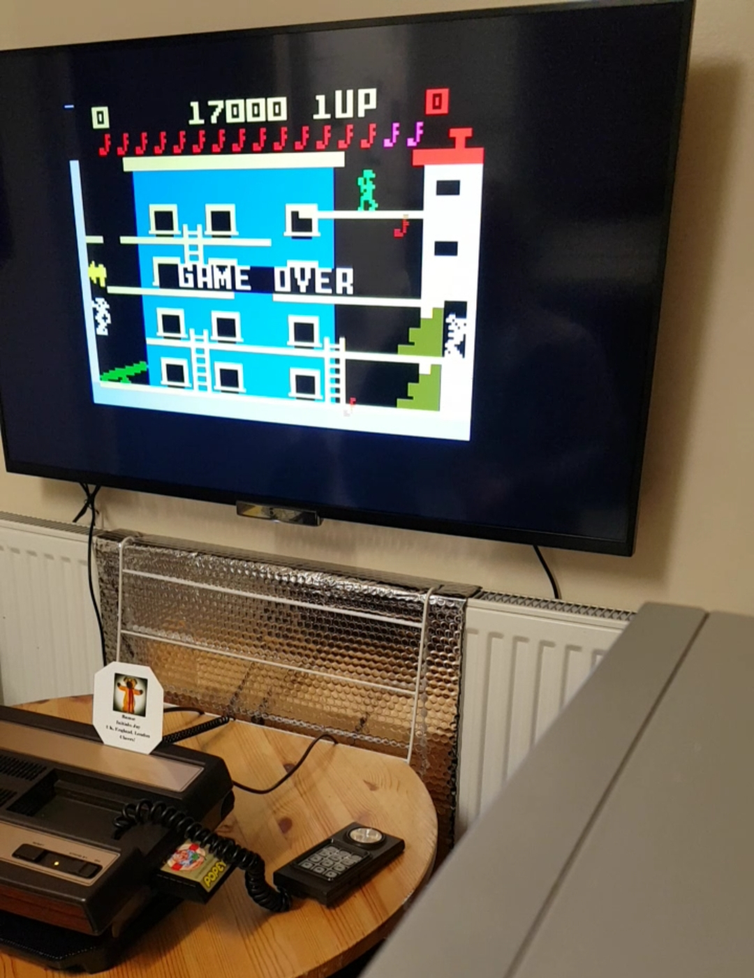 Bamse: Popeye: Level 4 (Intellivision) 17,000 points on 2018-12-10 16:03:28
