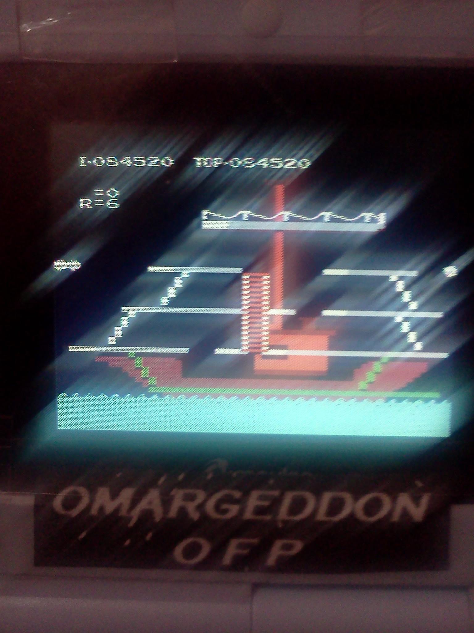 omargeddon: Popeye (NES/Famicom Emulated) 84,520 points on 2016-08-22 00:38:30