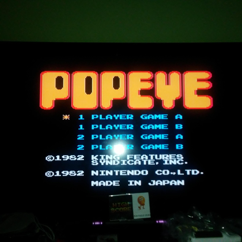Popeye 31,580 points