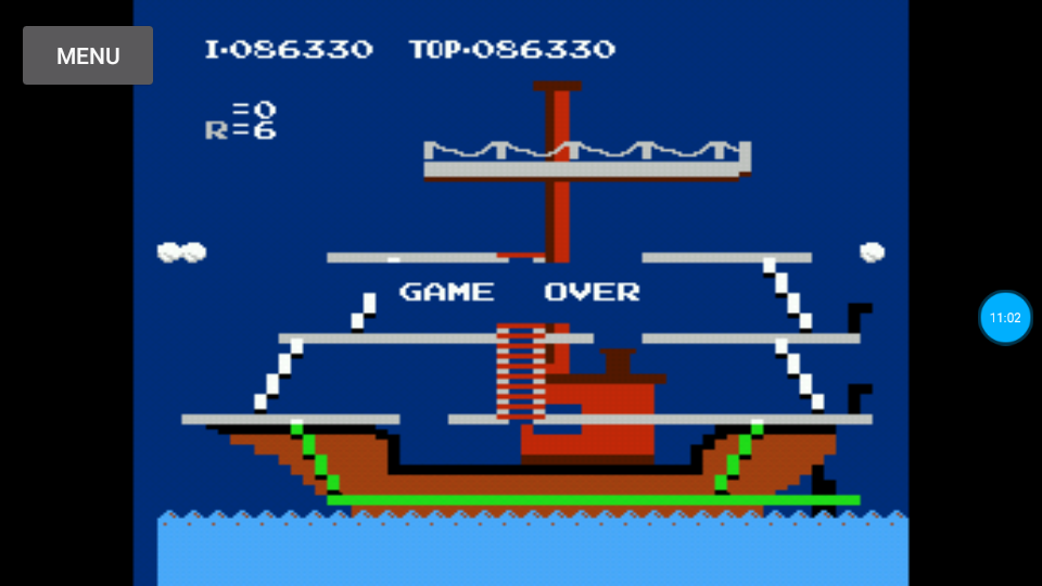 omargeddon: Popeye (NES/Famicom Emulated) 86,330 points on 2018-07-14 22:11:19