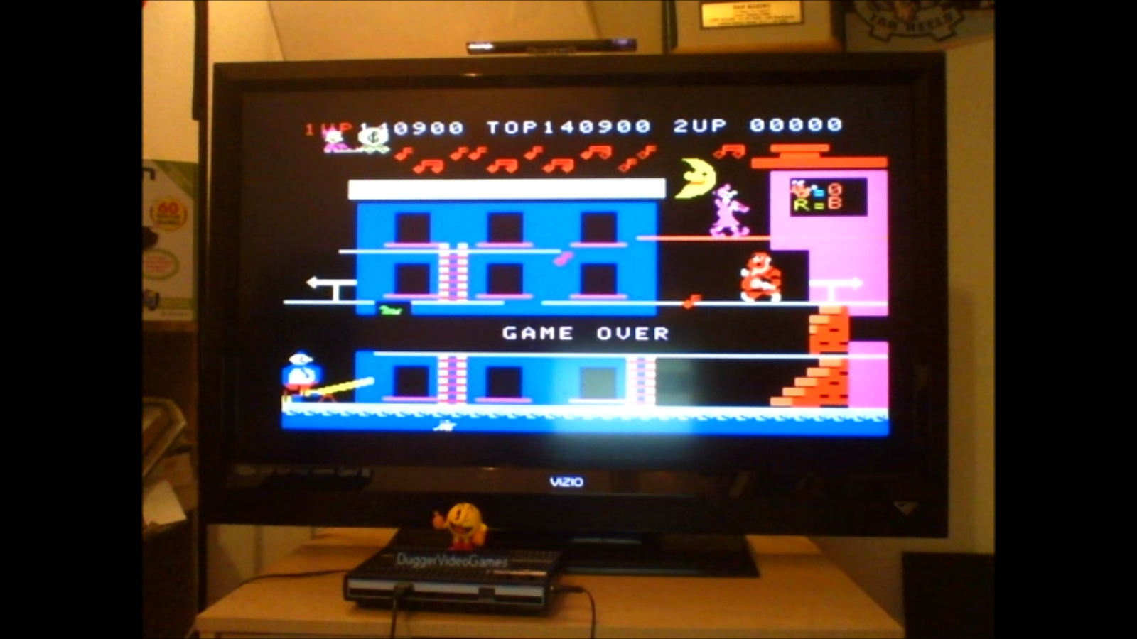 DuggerVideoGames: Popeye: Skill 1 (Colecovision Emulated) 140,900 points on 2016-07-07 22:58:27