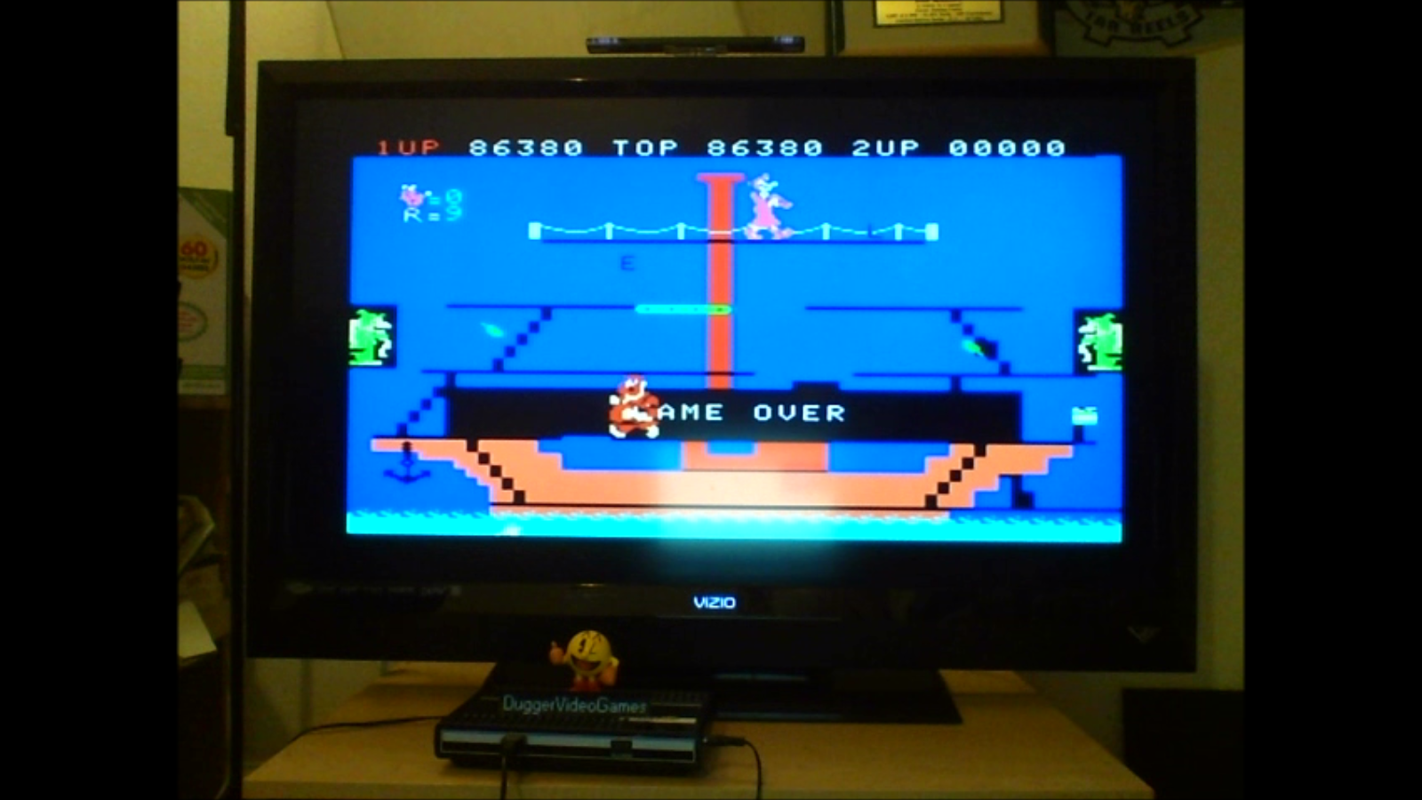 DuggerVideoGames: Popeye: Skill 2 (Colecovision Emulated) 86,380 points on 2016-07-07 20:02:59