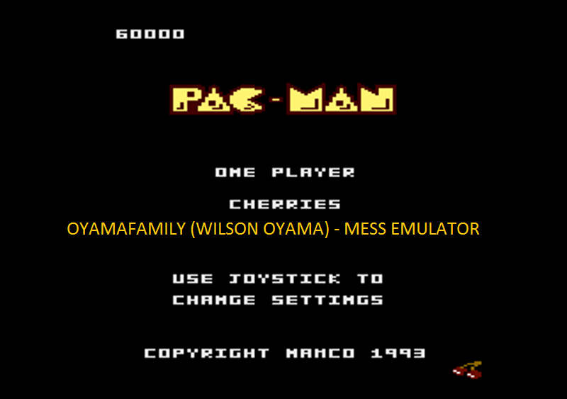 oyamafamily: Portable Ms. Pac-Man: Cherries Start (Atari 7800 Emulated) 60,000 points on 2016-05-07 20:02:58