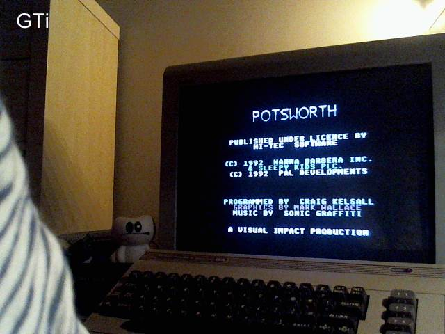 GTibel: Potsworth (Commodore 64) 15,000 points on 2016-12-29 08:35:15
