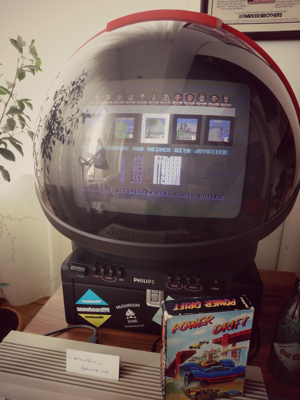 arasalkan: Power Drift (Commodore 64) 734,690 points on 2019-05-05 06:41:21
