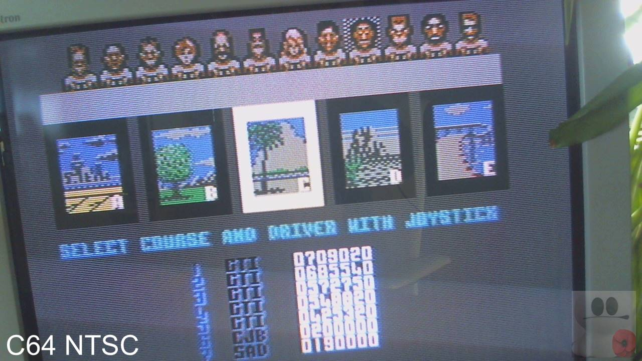GTibel: Power Drift (Commodore 64) 709,020 points on 2020-02-17 04:21:37