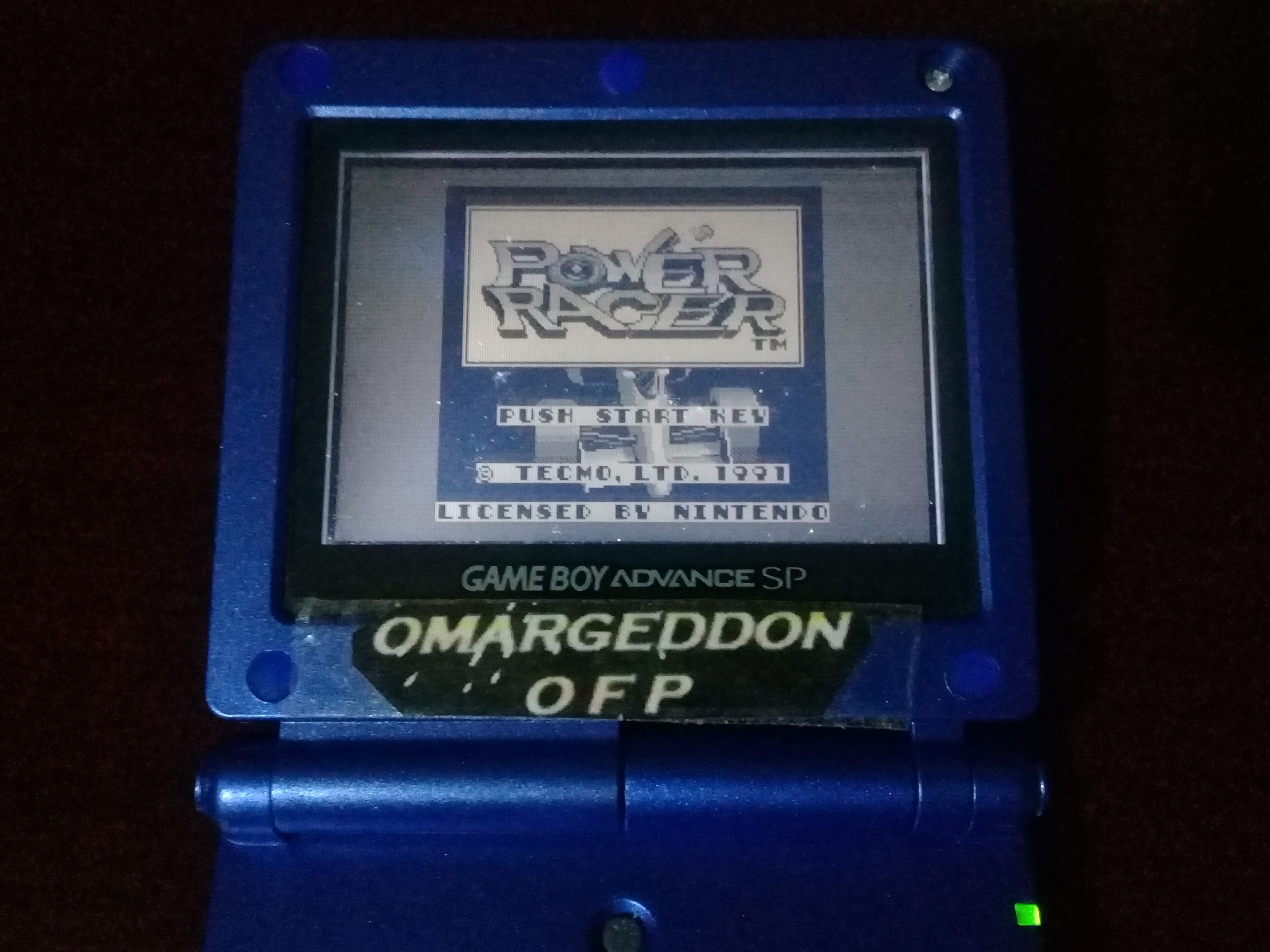 omargeddon: Power Racer (Game Boy) 159,900 points on 2020-12-28 21:04:51