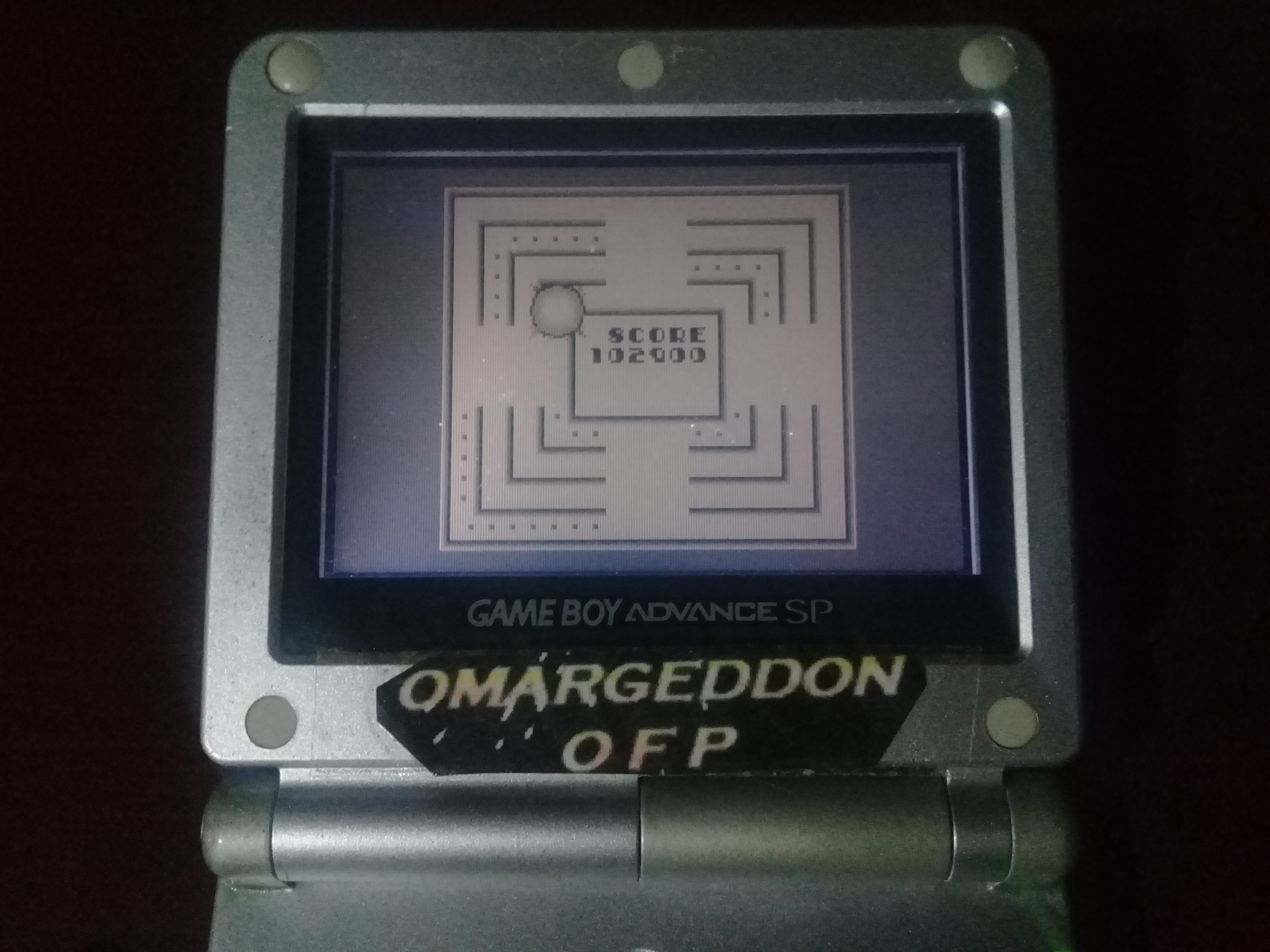omargeddon: Power Racer (Game Boy) 102,900 points on 2019-04-16 21:53:29
