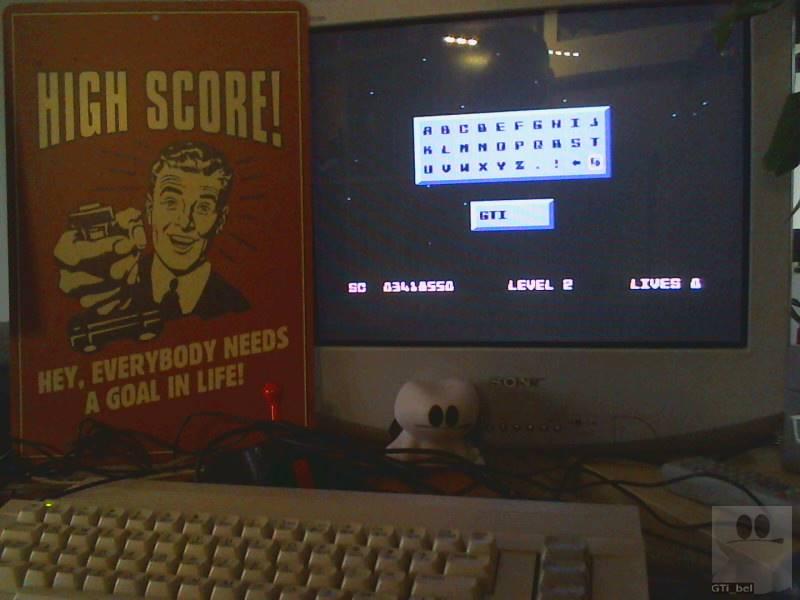 GTibel: Powerama (Commodore 64) 3,418,550 points on 2019-05-18 02:52:37