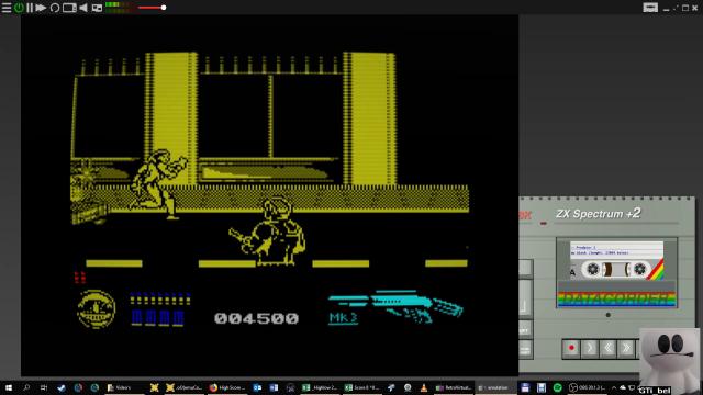 GTibel: Predator 2 (ZX Spectrum Emulated) 4,500 points on 2019-01-25 03:16:24