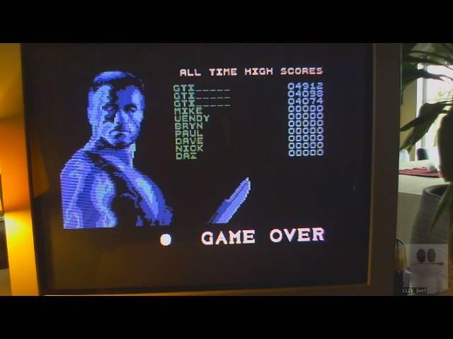 GTibel: Predator (Commodore 64) 4,912 points on 2019-05-18 02:53:39