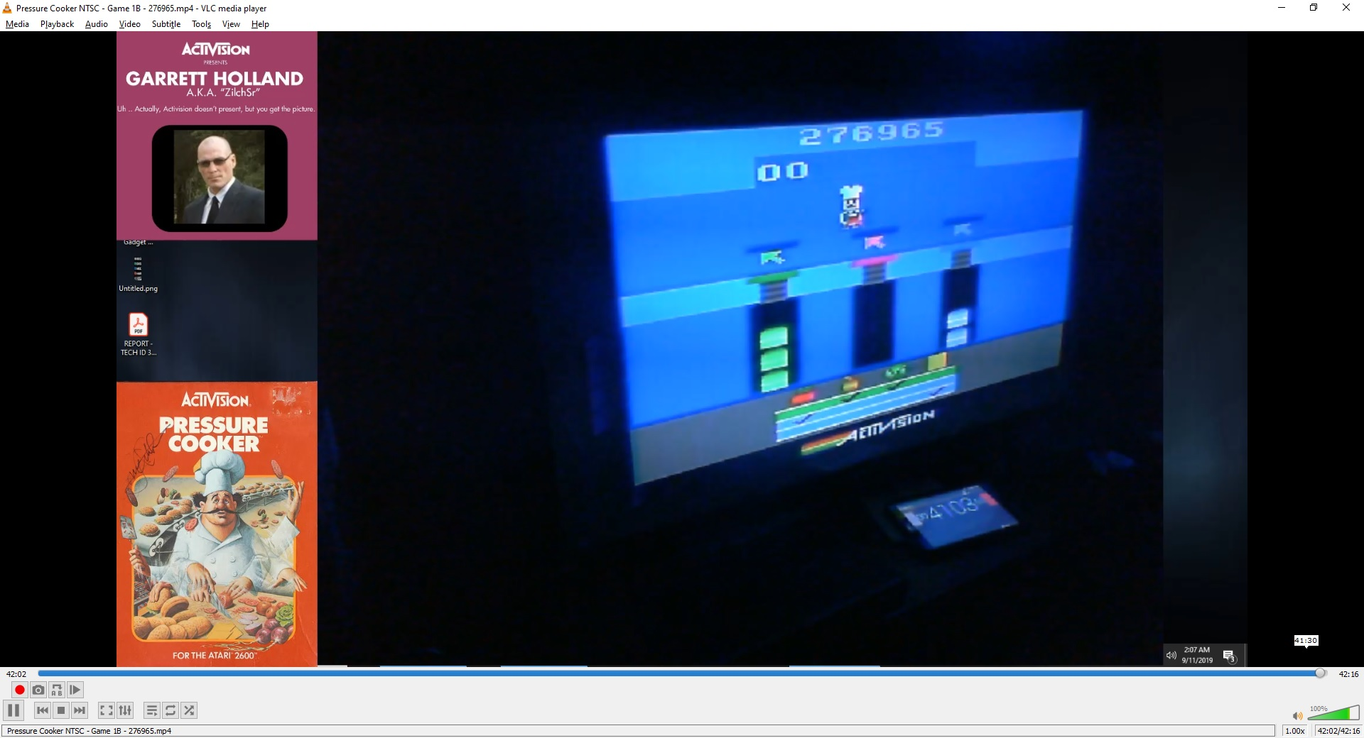 ZilchSr: Pressure Cooker (Atari 2600 Novice/B) 276,965 points on 2019-09-29 16:52:21