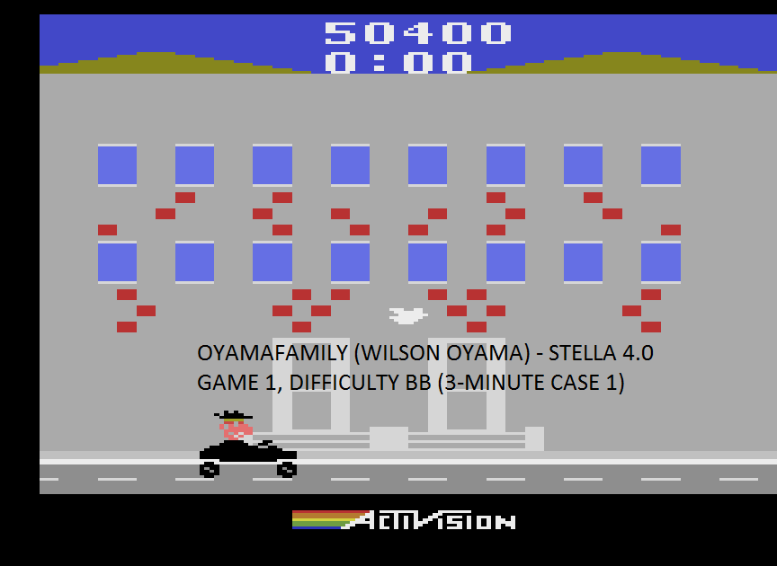 oyamafamily: Private Eye: Game 1 (Atari 2600 Emulated Novice/B Mode) 50,400 points on 2015-09-04 17:11:17