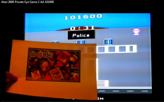nads: Private Eye: Game 2 (Atari 2600 Expert/A) 101,600 points on 2016-04-23 01:25:35