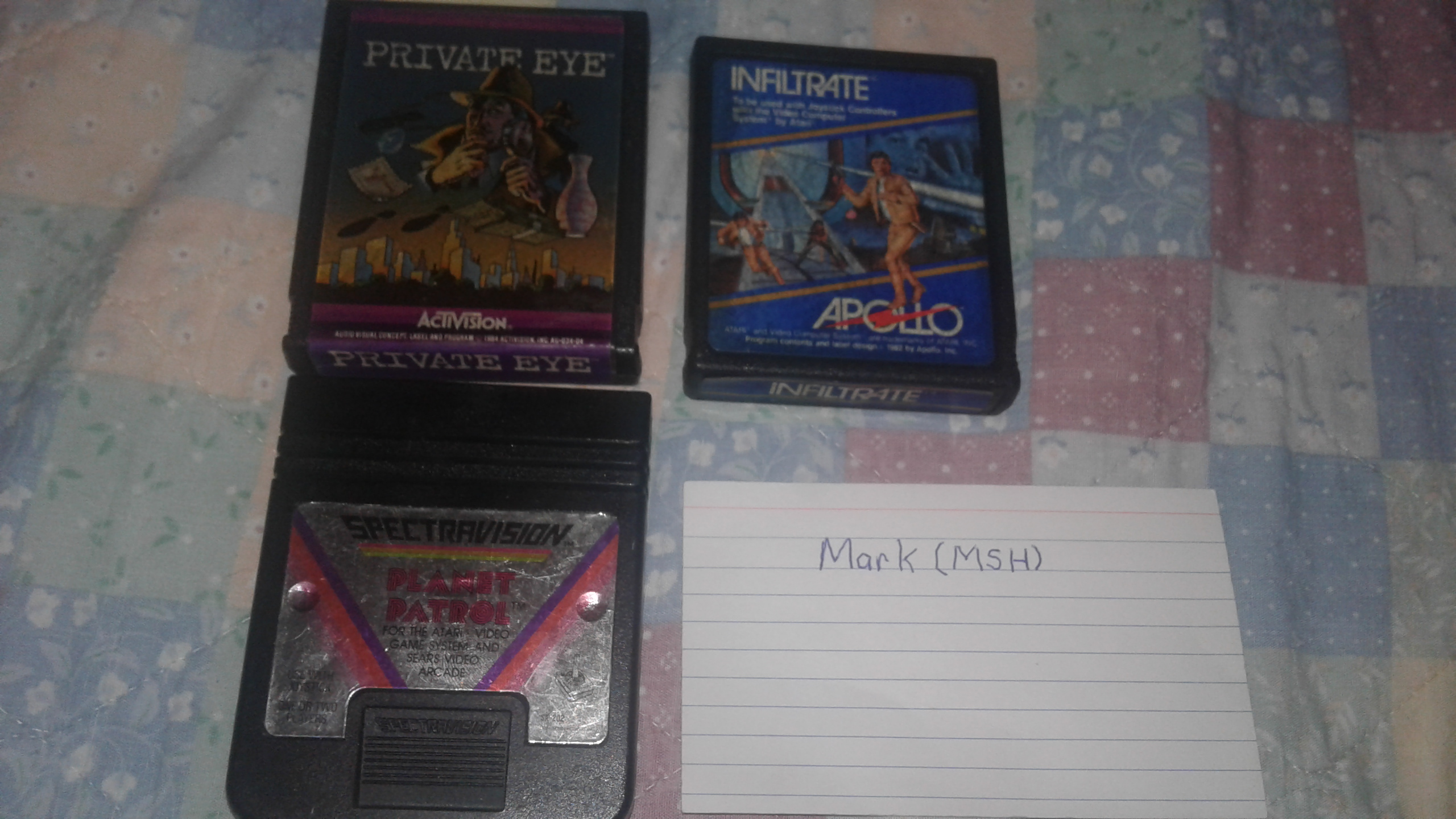 Mark: Private Eye: Game 2 (Atari 2600 Novice/B) 15,900 points on 2019-03-02 00:57:49