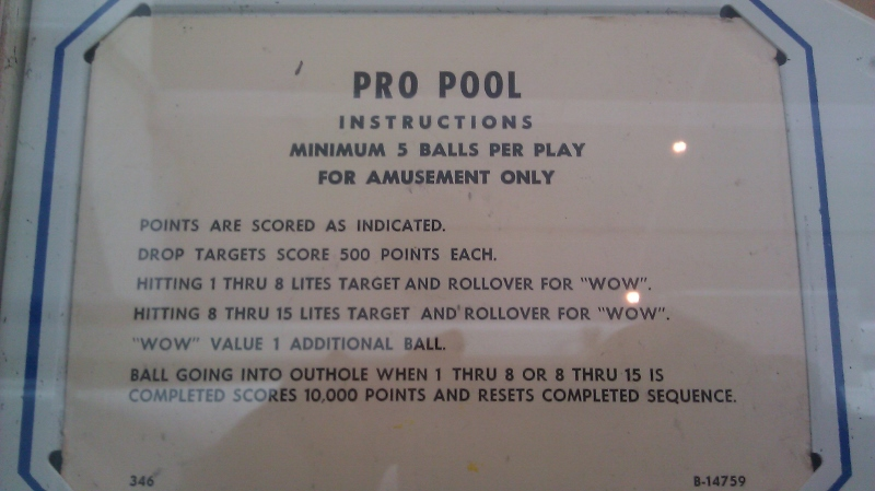 Pro Pool 86,620 points